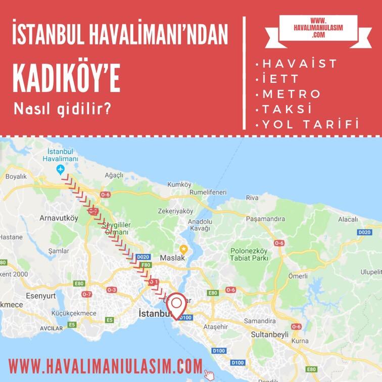 istanbul havalimanından kadıköye ulaşım